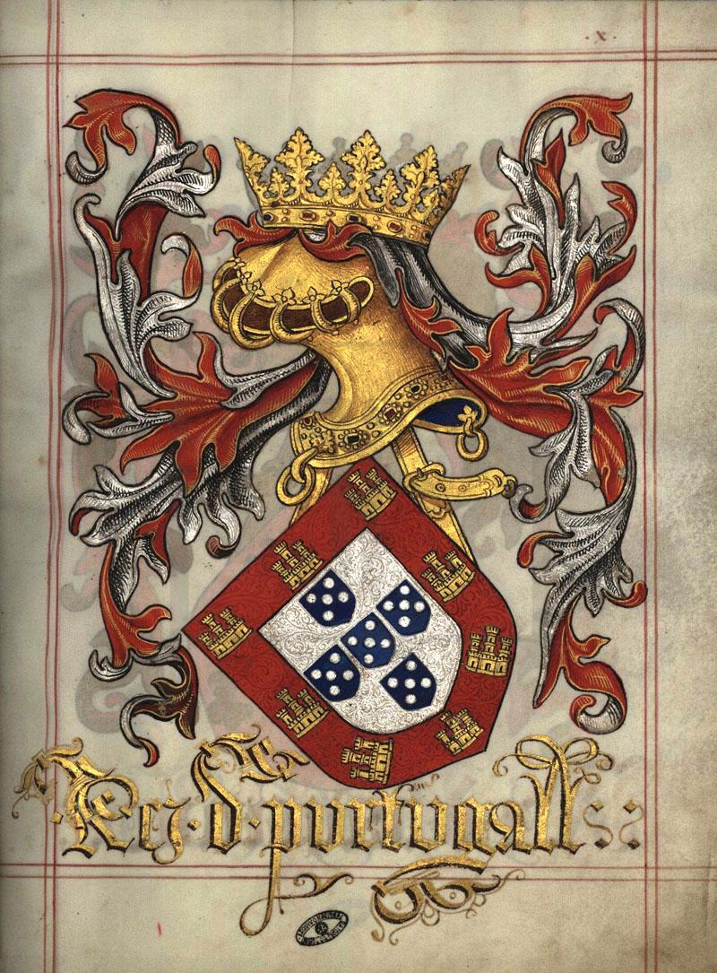 Das Wappen Portugals Armas De Portugal
